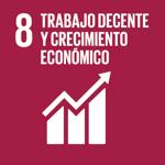 Objetivo de Desarrollo Sostenible 8. Trabajo decente y crecimiento económico